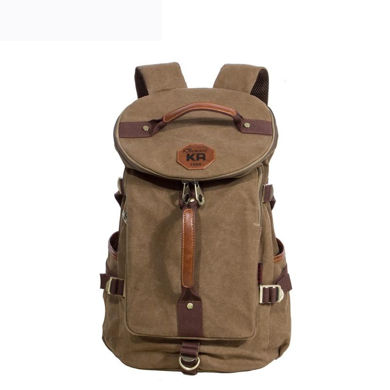 ФОТО Hot sale 2017 New Vintage Backpack Fashion Canvas Backpack Leisure Travel School Bags  Backpacks Men's Backpack