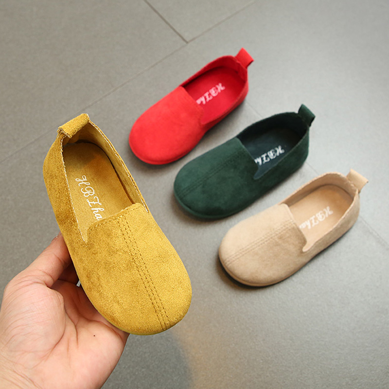 Detail Feedback Questions about Children Shoes Candy Color Kids Shoes Boys    Girls Loafers Slip on Flat Shoes 1 6 Year Old Baby Sneakers Spring Summer  ... 2e9cde315392