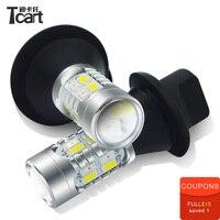 Tcart DRL yellow turn signal light daytime running light 20w super bright auto PY21W S25 BAU15S 5730 For Mitsubishi Mirage