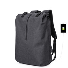Backpack Men 15.6 inch Laptop Waterproof Oxford USB charging Anti Theft Travel Backpack For Male School Bags boy Fashion&Casual