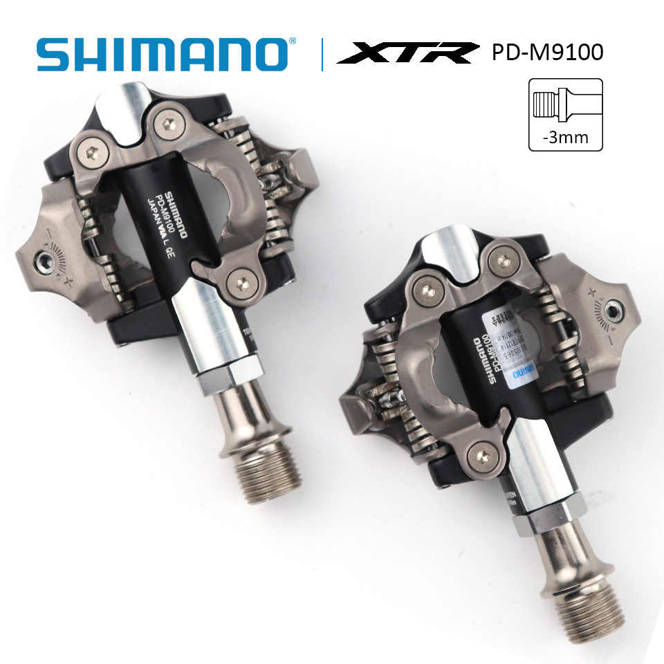 Brand New /& Boxed Shimano XTR PD-M9000 SPD Mountain Bike Pedals /& SM-SH51 Cleats