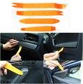 4 unids/set auto car radio puerta clip panel de moldura dash para mitsubishi asx outlander lancer ex pajero opel mokka volvo s60 v60 xc60