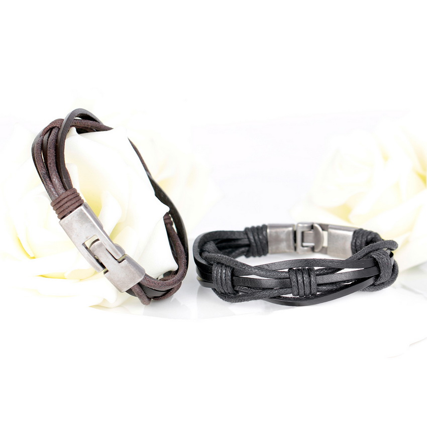 2018 New Fashion Novelty Digital 8 Leather Bracelets Famous Womens Multilayer Bandage Brand Friendship Charm Bracelet For Men 100% High Quality Materials Chain & Link Bracelets Jewelry & Accessories
