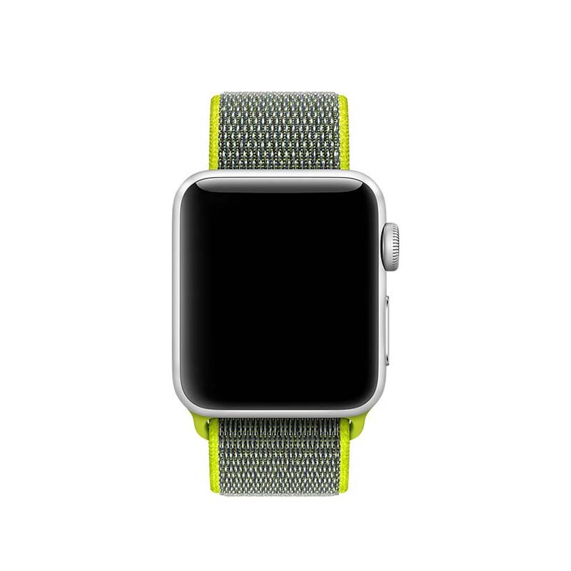 ThorMax sport woven nylon loop strap for apple watch band wrist braclet belt fabric-like nylon band for iwatch1 2 3 NY1006