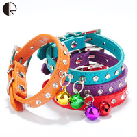 Hot Leather Small Dog Collars Designer Chihuahua And Puppy Kitten Harness Set Pet Shop Dog Supplies
