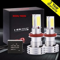 2x 9006 HB4 LED Headlight Conversion Kit 90W 9000LM Led White Light Bulbs High Power COB LED Bulbs Car DRL Fog Headlight Lamp