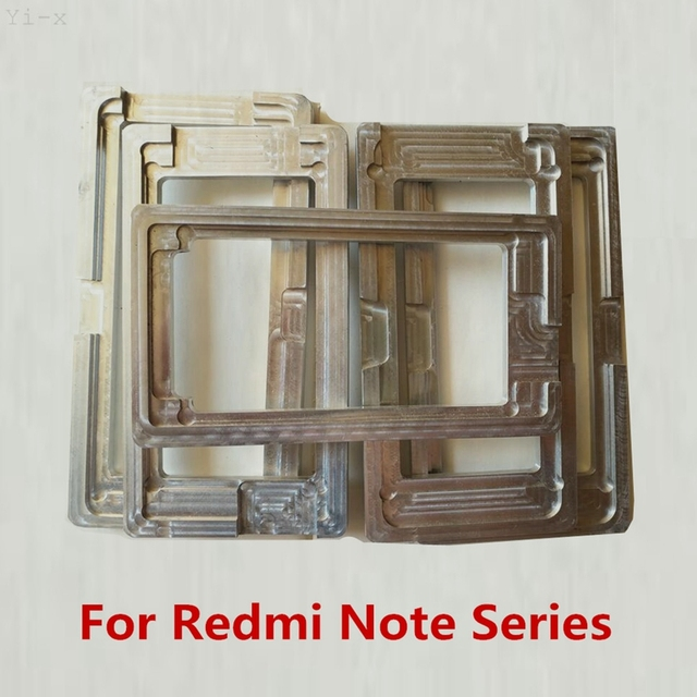 Mold Holder LCD Outer Glass Lens Screen Glue Aluminum Metal Mould For Xiaomi Redmi Note 2 3 4 4X 5 6A 6 Pro 7 NT5 pro NT5A Y1