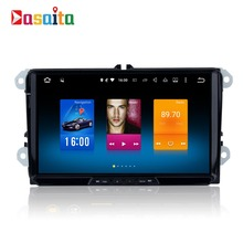 9″ eight-core 1024*600 Android 6.0 GPS navigation for Volkswagen Universal build-in wifi FM RDS mirror link map NO DVD player