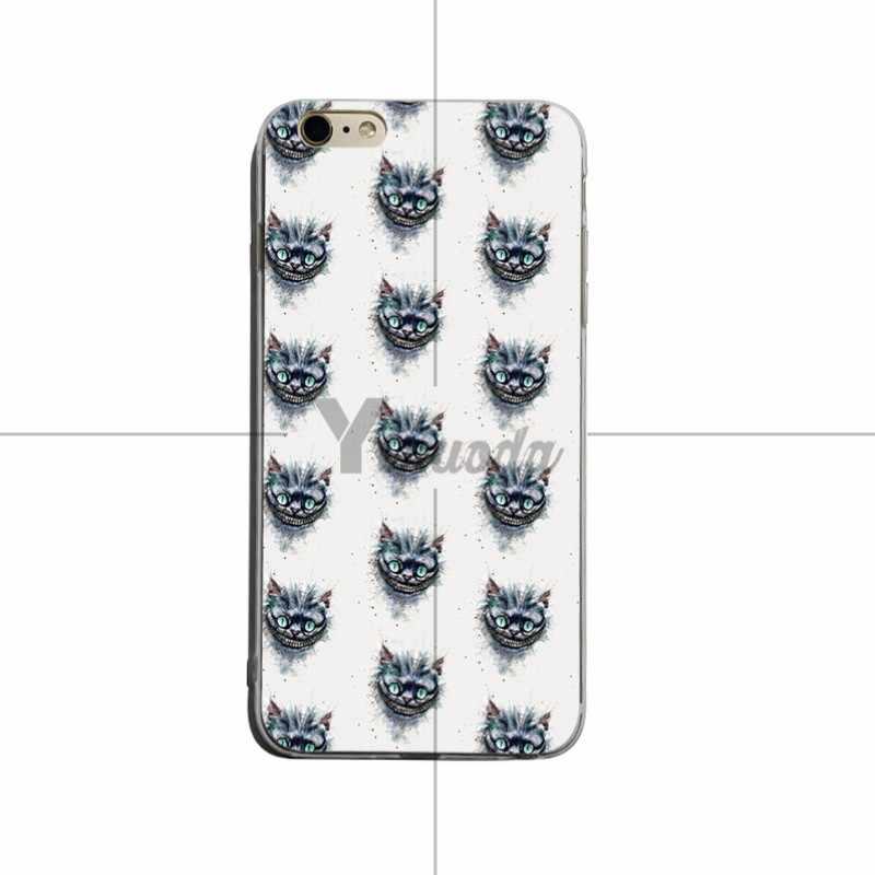 Yinuoda شيشاير القط كلنا صنع هنا شفافة كوكه لينة غطاء حقيبة لهاتف أي فون X XS XR XSMax 5 ثانية SE 8 8 زائد 7 7 زائد 6 ثانية 6 sPlus