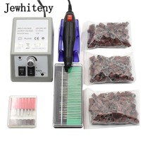 Electric Nail Drill Manicure Machine With Nail Drill Bits Sanding Pedicure Manicure Nail Art Equipment Nail
