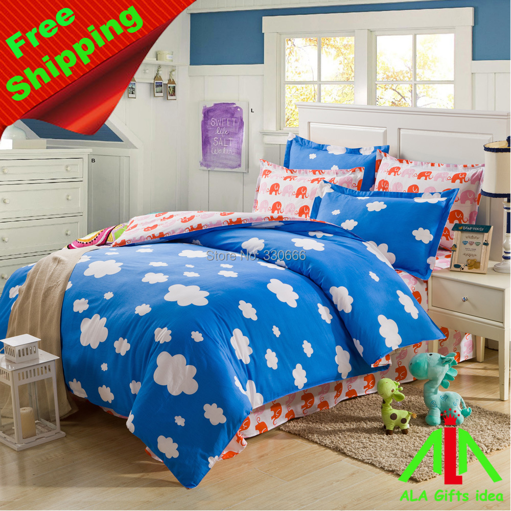 Brand new 100% cotton bedding sets, duvet cover, sheet, pillow cases - ALA Gifts Idea store