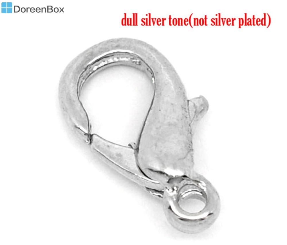 Doreen Box ravissant 100 fermoirs à homard. Bracelet chaîne à maillons 12x7mm (B10178)