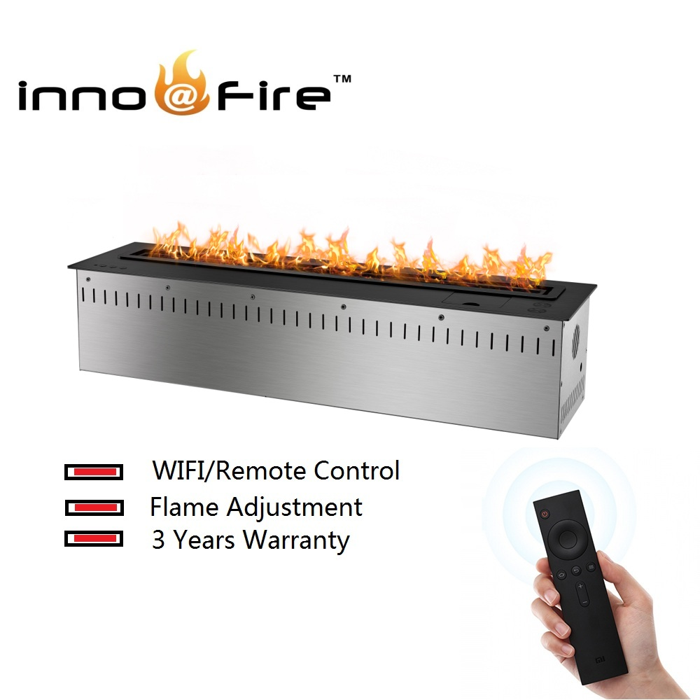 Inno-living 30 Inch Intelligent Wifi/remote Control Ethanol Fireplace Stove