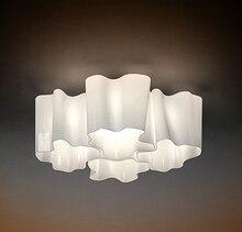 Logico Cuádruple Anidadas de Techo lámpara de techo de Luz Por Michele de Lucchi Micro accesorio de iluminación