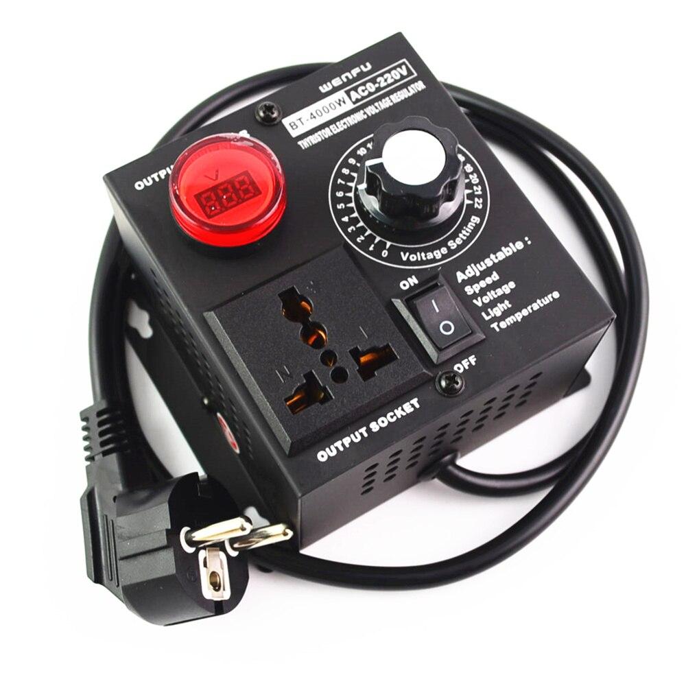 EU Plug AC220V 4KW…