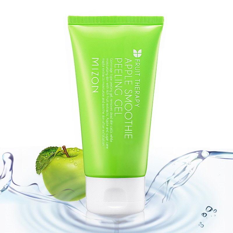 MIZON APPLE SMOOTHIE PEELING GEL 120ml Korea Cosmetic Skin Care Face Cleansing  недорого
