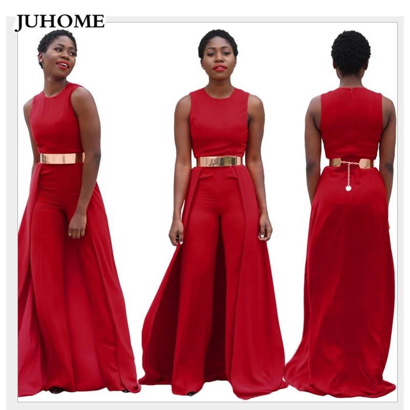 973ed6539e52 high quality women fashion nova 2018 rompers jumpsuit One Piece Long wide  leg pants Casual Party red overalls dungarees macacao-in Jumpsuits from  Women s ...