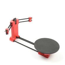 HE3D с открытым исходным кодом DIY 3D сканер комплект, расширенный лазерный сканер красный пластик литья под давлением запчасти