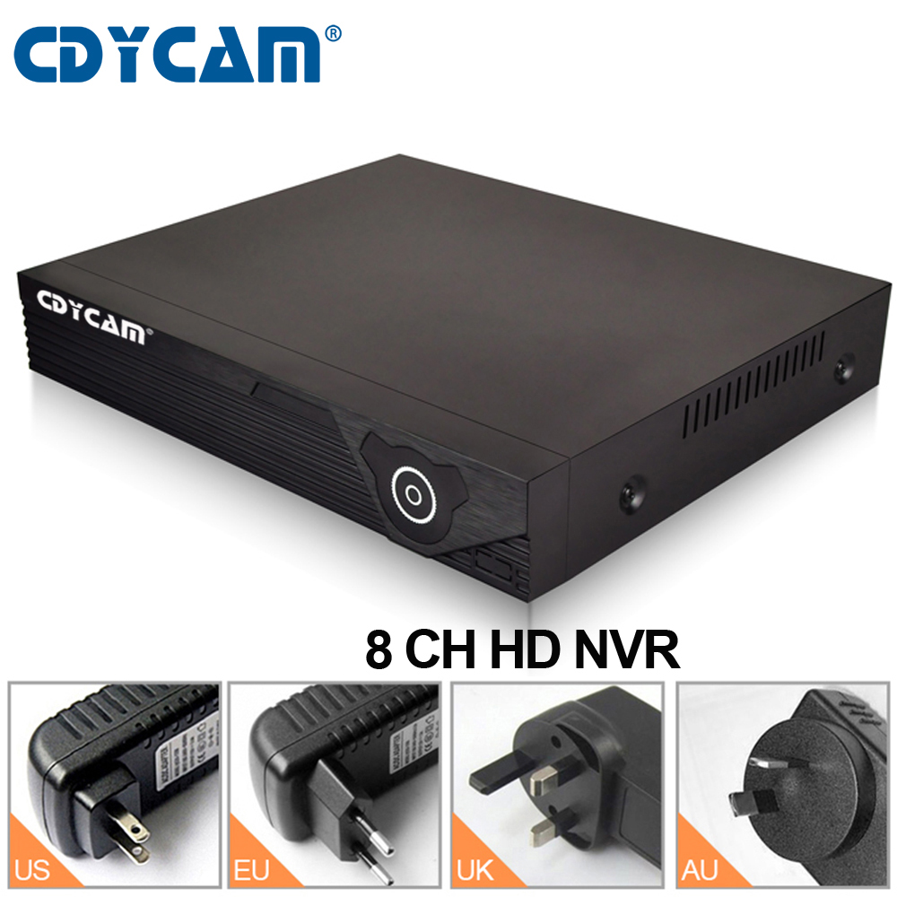 Cdycam 1080P 8CH HD NVR Eye4 NVR Network Video Recorder Resolution 1920x1080 Onvif Cloud Storage Support wifi IP Camera N800 new laptop russian keyboard for sony vaio svf15ne2e svf152a29m svf15a1m2es ru keyboard with frame palmrest cover