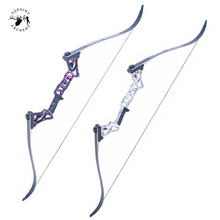 5 Colors 30-50 Lbs 58 Inches Aluminum Alloy Bow Handle for Compound Recurve Archery Hunting Shooting
