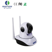 ESCAM G02 Dual Antenna mini HD 720P Pan Tilt WiFi night vision Onvif Surveillance Cameras