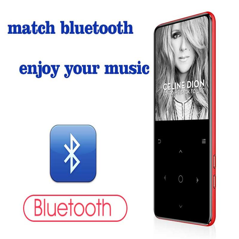 HiFi C6 8GB Portable Built-in Speaker Lossless Music Player 2.4 Inch Touch Screen APE/WMA/FLAC/WAV Hi-Fi Bluetooth MP3, Hebrew xduoo nano d3 24bit 192khz dsd256 hifi lossless music player built in 8gb ape flac alac wav wma ogg mp3