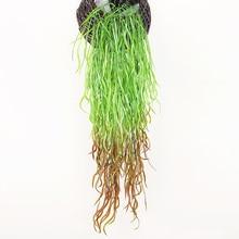 85 Cm Artificial Plant Rattan Green Leaf Garland Plants Vine Fake Foliage Flowers Home Decor Hanging Plastic Flower