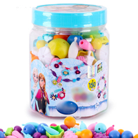 Pop Beads DIY Jewelry Making Kit Fashion for Ring Necklace and Bracelet Art Crafts Education Toys For Girls 150 Pieces