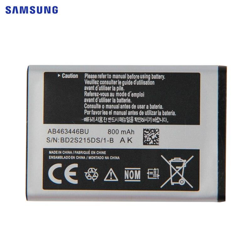 SAMSUNG Original Battery AB463446BA/BC/BE/BU AB043446TU AB043446BC/BE/BU AB043446TC For Samsung C3300K X208 GT C3520 C3300 X160|battery ab463446bu|phone battery|ab463446bu battery - title=