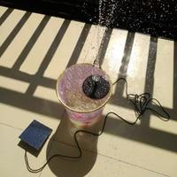 Solar Water Pump Power Panel Kit Garden Plants Watering Power Fountain Pool Submersible Fountain Pond Water Pump Garden Decor