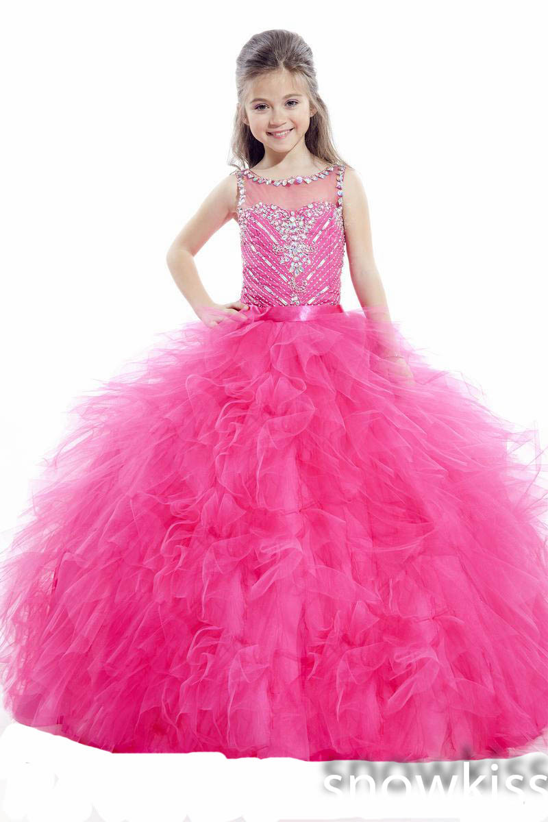 Popular Pink Sparkly Dresses for Girls-Buy Cheap Pink Sparkly ...