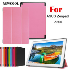 KST Flip Cover PU Leather Case For ASUS Zenpad 10 Z300C Z300CL Z300CG z300m 10.1″ Tablet Case Protective shell