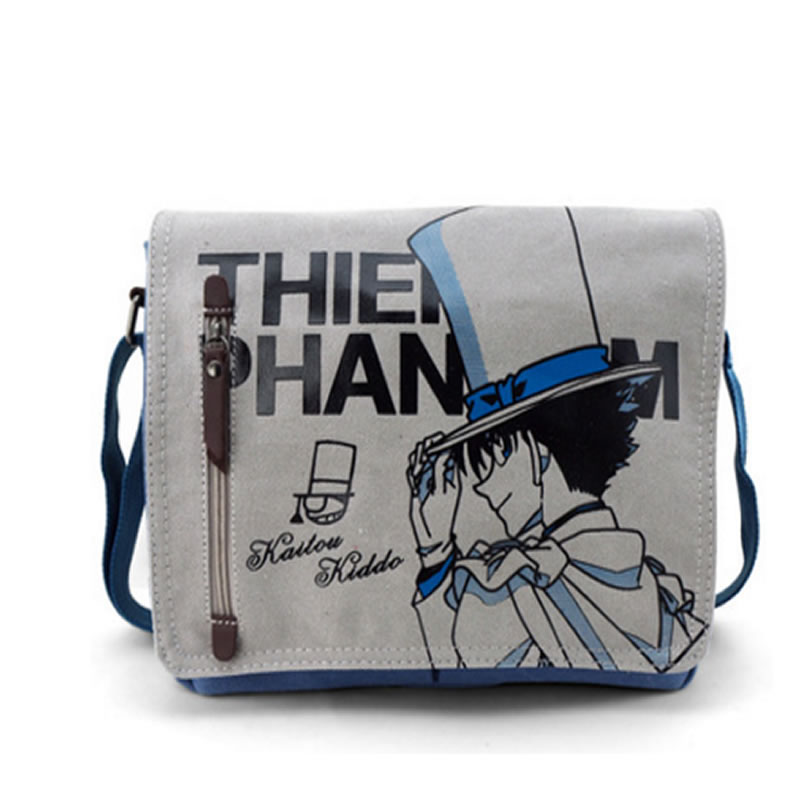 One Piece Totoro Bag Men Messenger Bags Canvas Shoulder Bag Lovely Cartoon Anime Neighbor Crossbody School Letter Bag