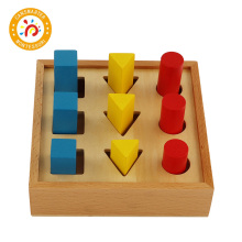 Montessori Material Geometric Building Blocks Baby Toy Know Shapes Early Education Juggl