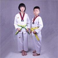 Daddy Chen Taekwondo Karate Clothing Children Adult Taekwondo Suit Clothing Tae Kwon Do Uniform Karate Long