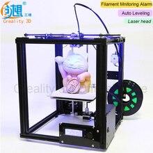 Core-XY v-слот Рамки creality 3D автоматическое выравнивание 3D-принтеры Ender-4 лазерной 3D-принтеры комплект нити мониторинга сигнализация защита