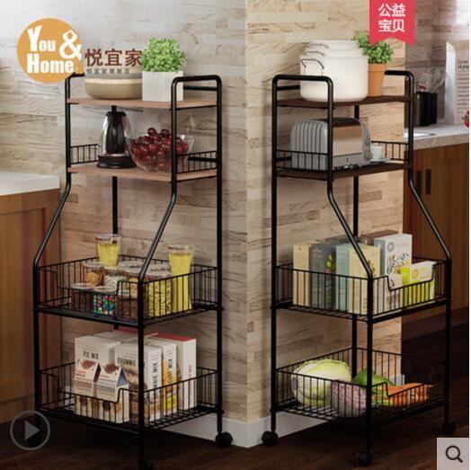 US $149.52 11% OFF|Kitchen supplies storage rack landing multi layer  vegetable seasoning bowl pan storage rack-in Storage Holders & Racks from  Home & ...