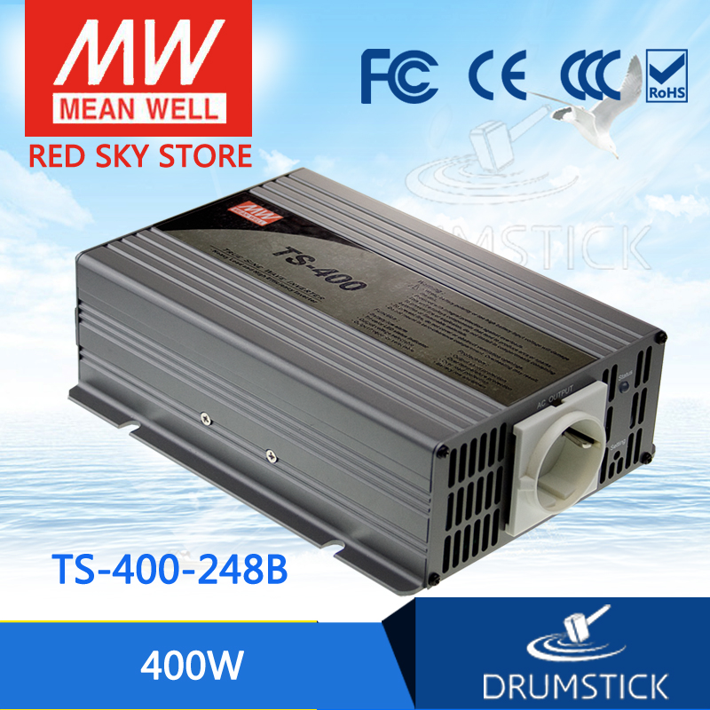 цена на Selling Hot MEAN WELL TS-400-248B EUROPE Standard 230V meanwell TS-400 400W True Sine Wave DC-AC Power Inverter