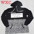 Twenty One Pilots Half Pullover Hoodie Homme Marque Men Sweatshirt Coat Twenty One Pilots Half Pattern Hoodie WXC