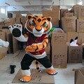 Tigress Tiger Kung Fu Panda Friend Crtoon Mascot adult Costume sales, Free Shipping