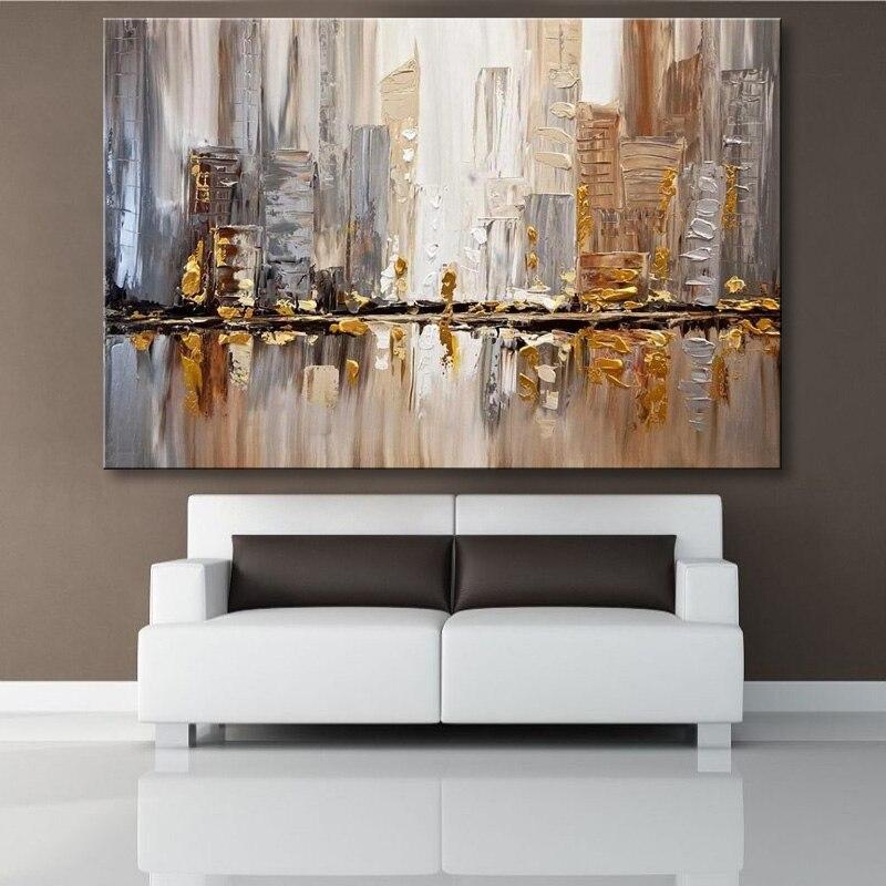 Ручная работа, картина маслом на холсте, Современная 100%, лучшее искусство, абстрактная живопись маслом, оригинал, непосредственно от artis XD1 305