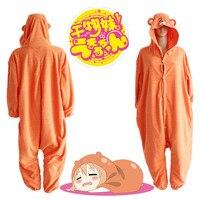 Himouto Umaru Chan Umaru Doma Cosplay Costume Winter Sleepwear Halloween Party Jumpsuit Pajamas Adult Onesie Daily