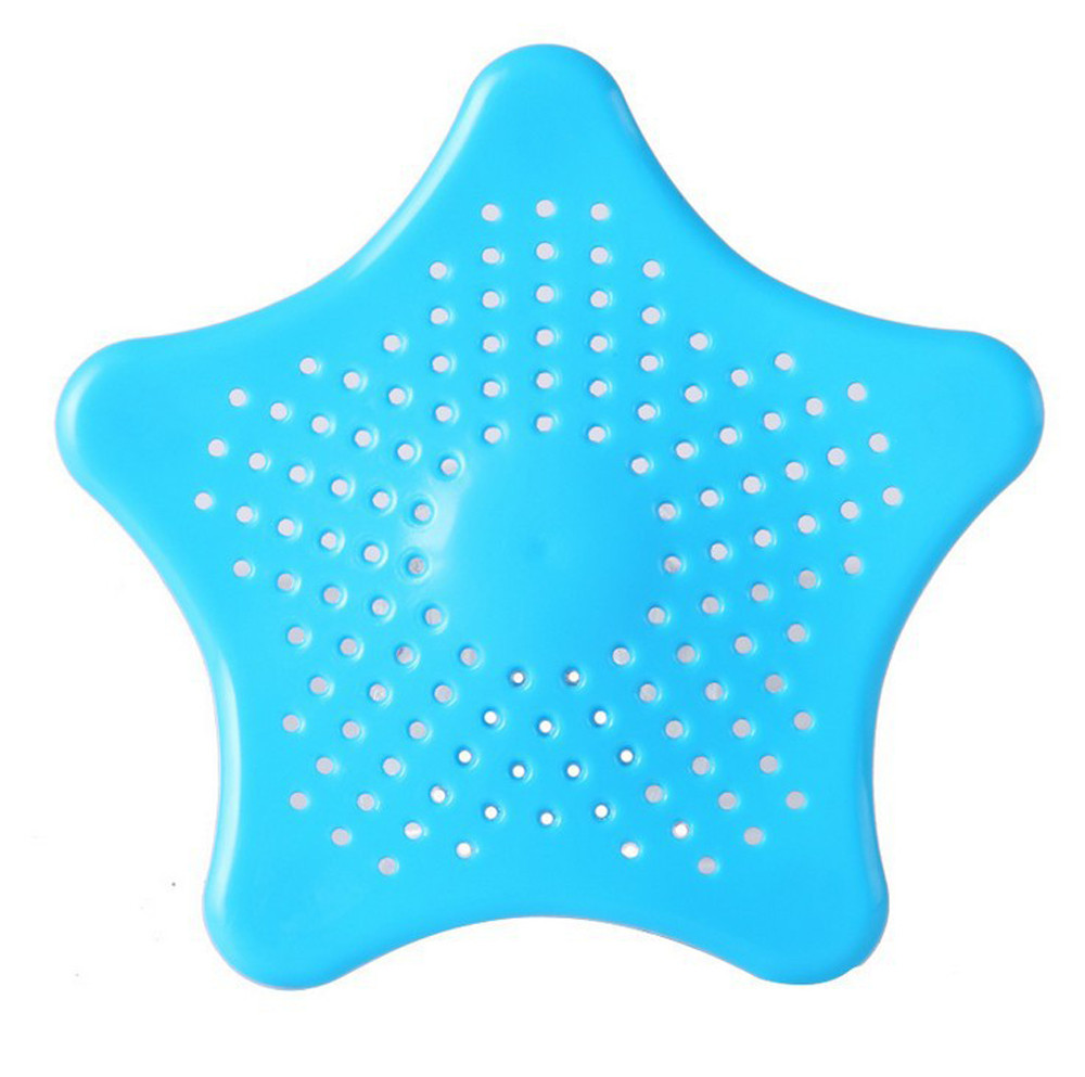 Star Bathroom Drain Hair Catcher Bath Stopper Plug Sink Strainer Filter Shower Bathroom Kitchen Sink Strainer #3X