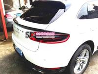 Fit for Porsche Macan carbon fiber rear spoiler rear wing