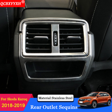 QCBXYYXH Car Styling 3PCS Modification Rear Air Outlet Of The Air Conditioner Sequins Car Accessories For