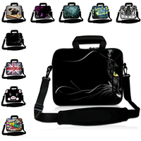 For Huawei Chuwi HP Tablet Pouch 10.1 Inch Shoulder Bags 17 12 13 10 14 15 Inch Neoprene Laptop Messenger Bags Mens Notebook Bag