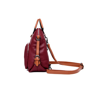 Image 3 - Fashion Women Backpack Large Capacity Travel Backpacks Soft Leather Shoulder Bags for Women Famous Brand Backpack Female Mochila