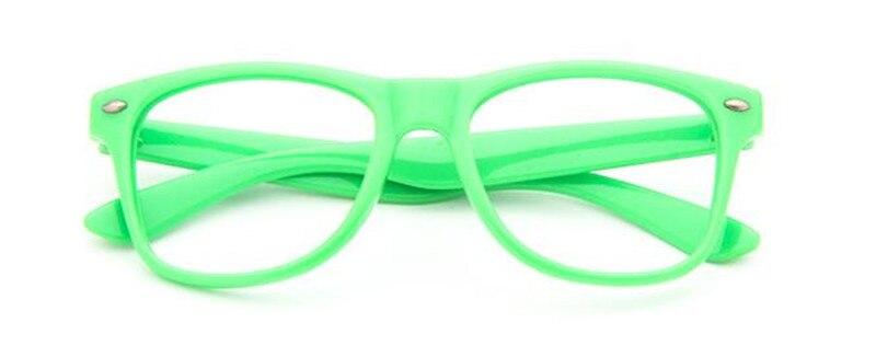 Винтажные детские оправы для очков для мальчиков и девочек, очки для близорукости Rx, детские очки без линз - Цвет оправы: Green