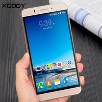 XGODY 3G Smartphone 6 Inch 1GB RAM 8GB ROM Telefone Celular Android 5 1 MTK6580 Quad