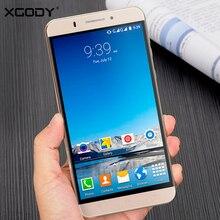XGODY 3G Smartphone 6 Inch 1GB RAM 8GB ROM Telefone Celular Android 5.1 MTK6580 Quad Core Unlocked Dual Sim Mobile Phone WiFi